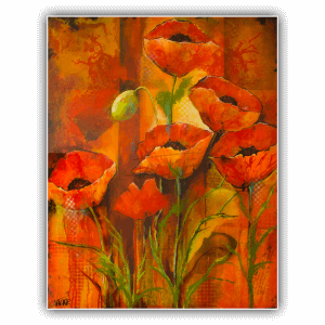 abstract-painting-jackie-micallef-artist-malta-poppies