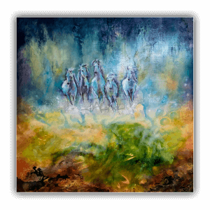abstract-painting-jackie-micallef-artist-malta-horses