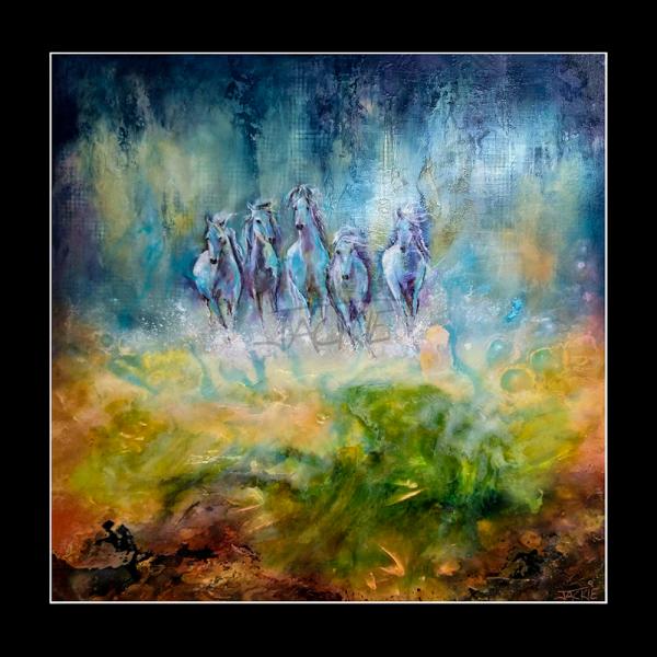 abstract-painting-jackie-micallef-artist-malta-horses