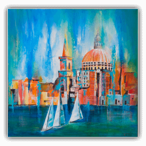 abstract-painting-jackie-micallef-artist-malta-valletta-seascape-sailing-boats