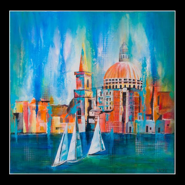 abstract-painting-jackie-micallef-artist-malta-valletta-seascape-sailing-boats